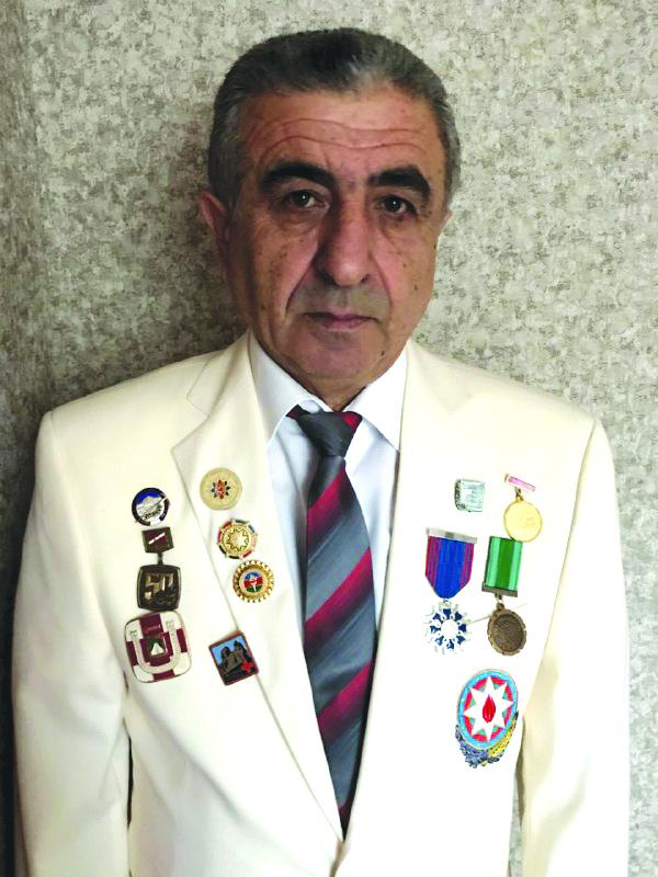 Saridan Mursaqulov 65 illik yubileyini qeyd edib