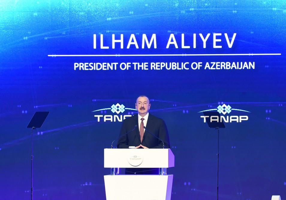 """İlham Əliyev: """"TANAP Türkiyə ilə Azərbaycanın növbəti zəfəridir"""""""