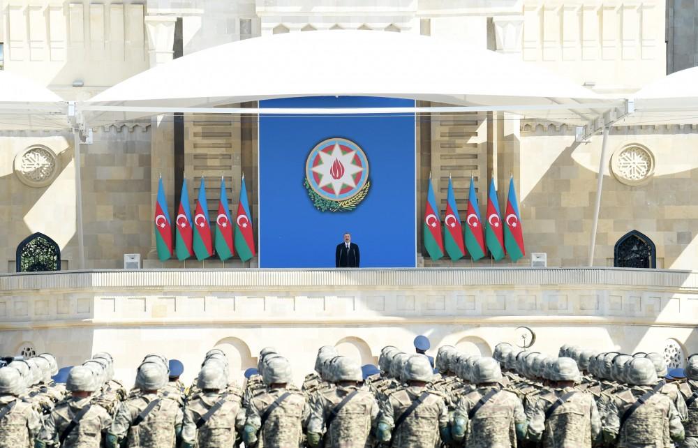 """İlham Əliyev: """"Azərbaycan işğalla heç vaxt barışmayacaq"""""""