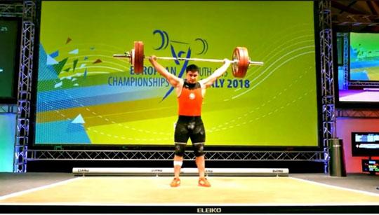 Tarmenxan Babayev Avropa birinciliyinin ikiqat qalibi olub