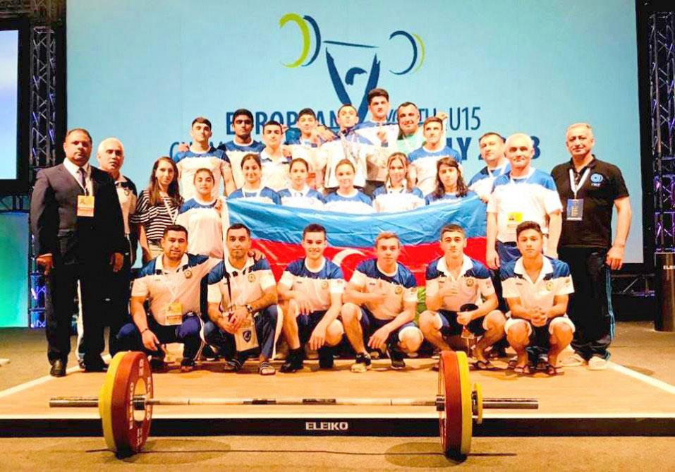 Azərbaycan Avropa birinciliyinin qalibi olub