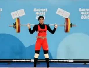 Buenos-Ayres-2018: ağırlıqqaldırma yarışlarından çıxışlar (qızlar) - video