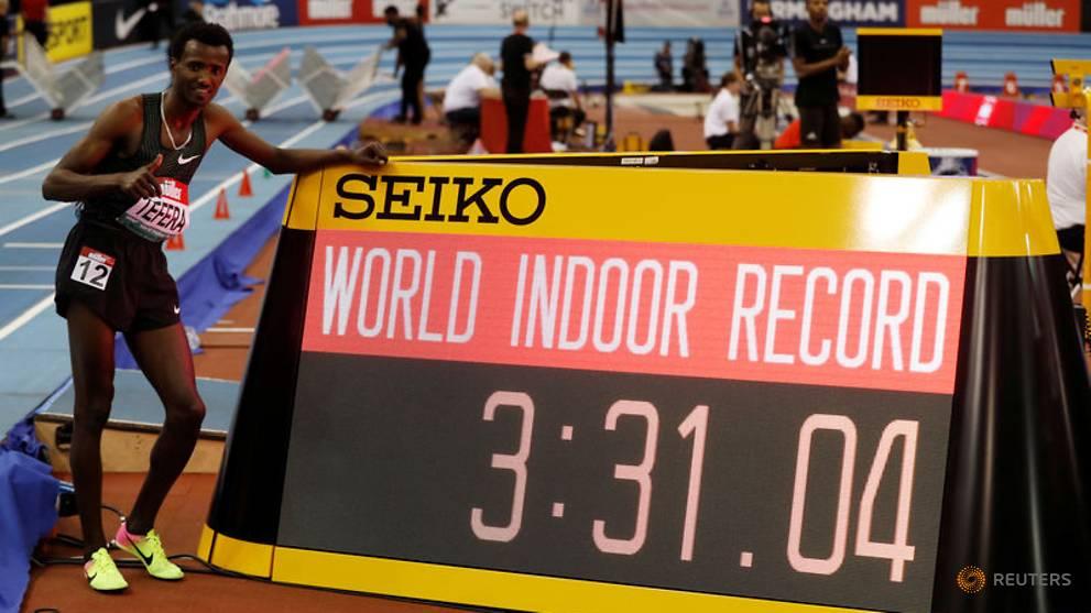 Efiopiyalı atlet 22 illik dünya rekordunu yenilədi - VİDEO