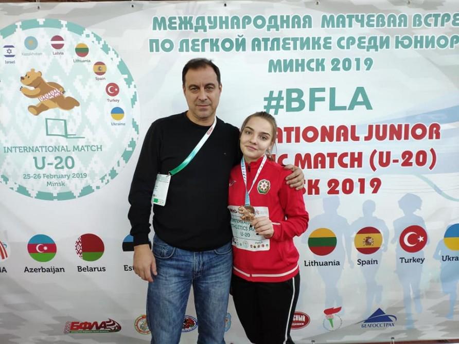 Minskdə Azərbaycan rekordu