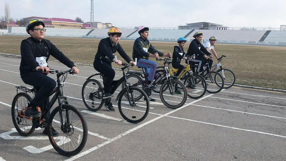 Naxçıvanda velosiped yarışı