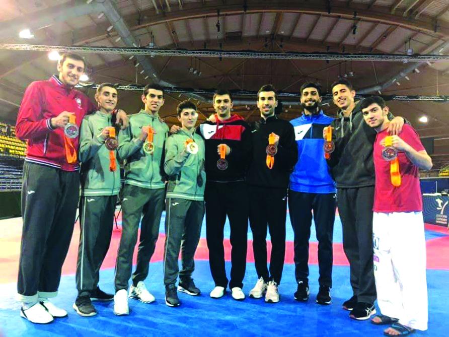 Taekvondoçularımız beynəlxalq turnirdə səkkiz medal qazanıb