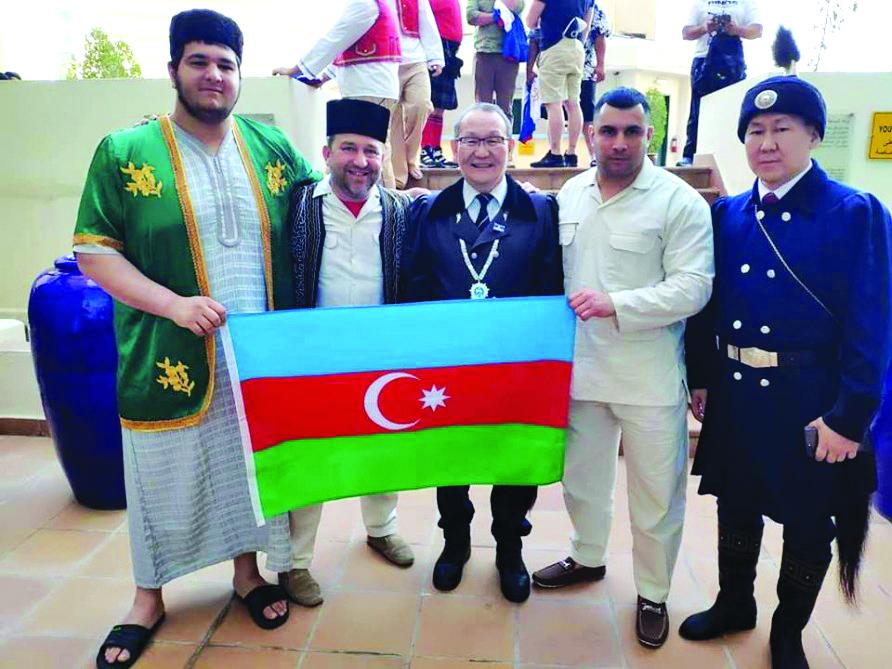 Sumoçumuz ümumdünya etno festivalında bürünc medal qazandı