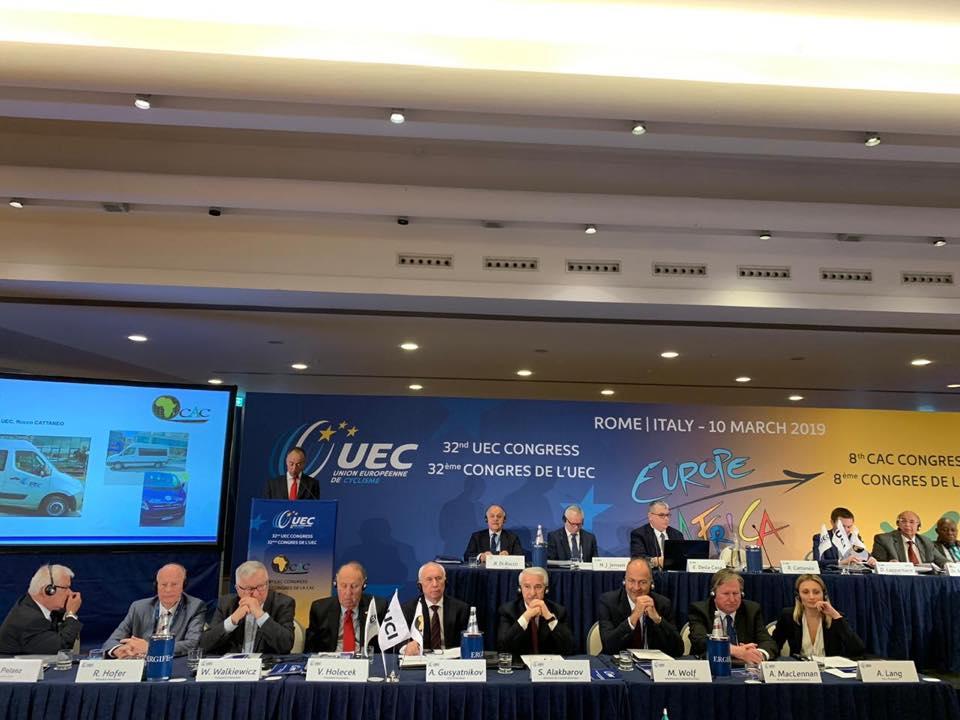 Sahib Ələkbərov UEC-in 32-ci konqresində iştirak edib
