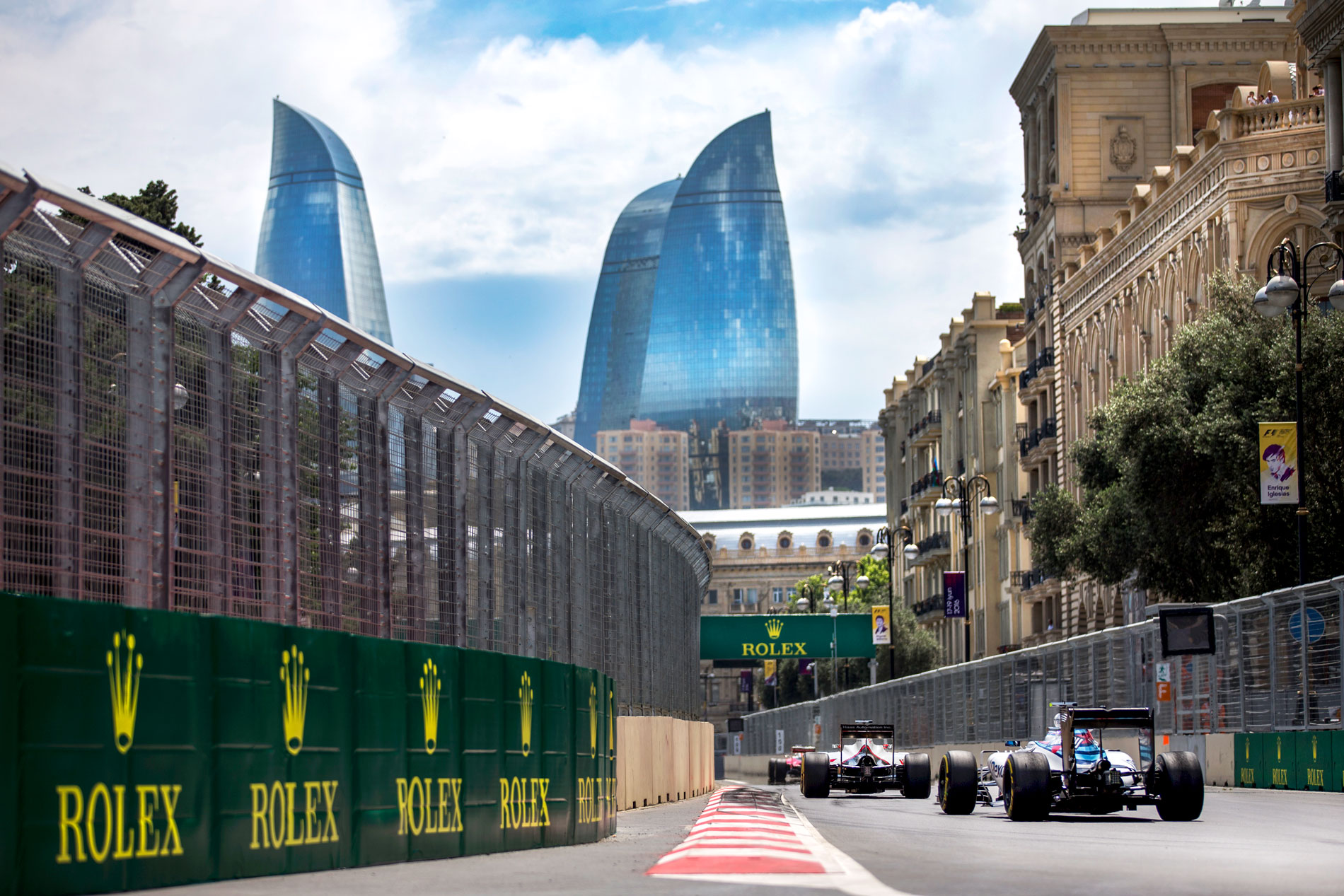 Bakı Formula 1-ə hazırlaşır