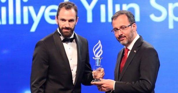 Azərbaycanlı atlet Türkiyədə ilin idmançısı seçildi