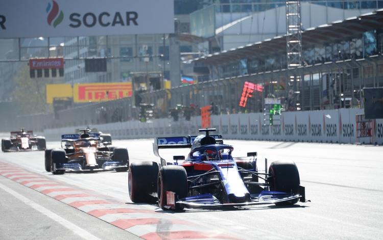 Formula-1 Azərbaycan Qran Prisinin final yarışları keçirilir