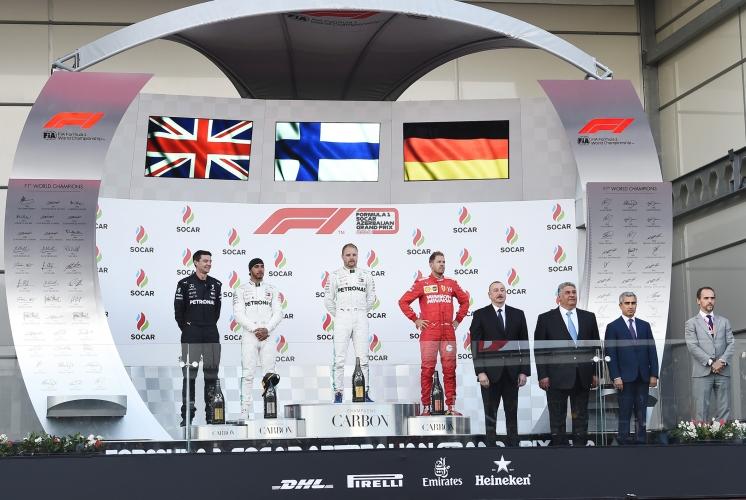 Bakıda Formula 1 SOCAR Azərbaycan Qran-Prisi başa çatıb