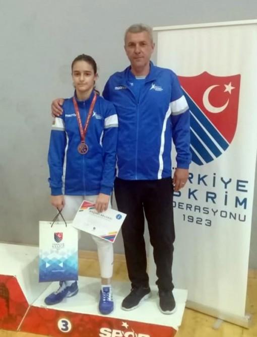 Sablyaçımız Türkiyədə bürünc medal qazandı
