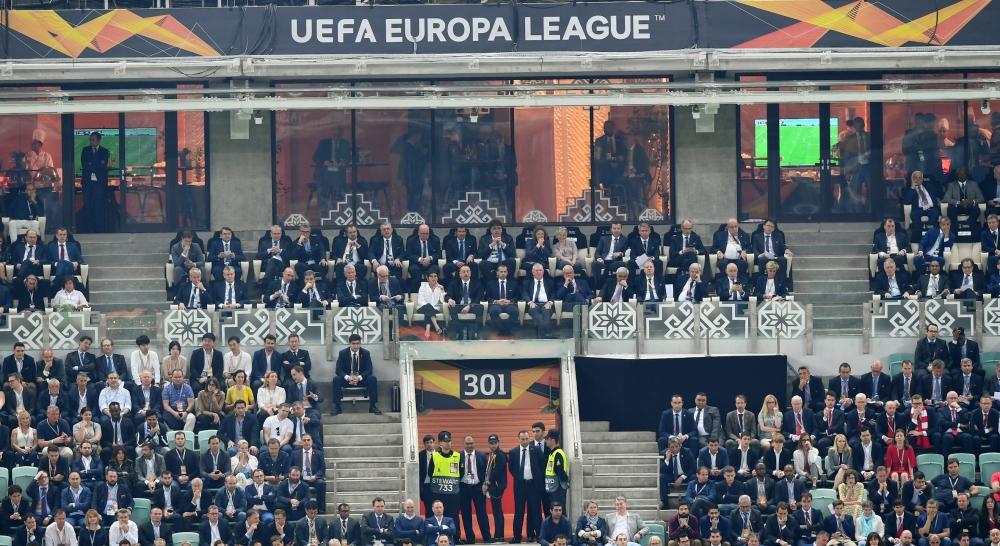"""Bakı Olimpiya Stadionunda UEFA Avropa Liqasının final qarşılaşmasının qalibi """"Çelsi"""" komandası olub"""