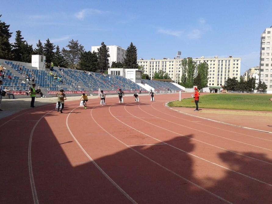 Atletika üzrə Bakı birinciliyinin qalibləri müəyyənləşdi