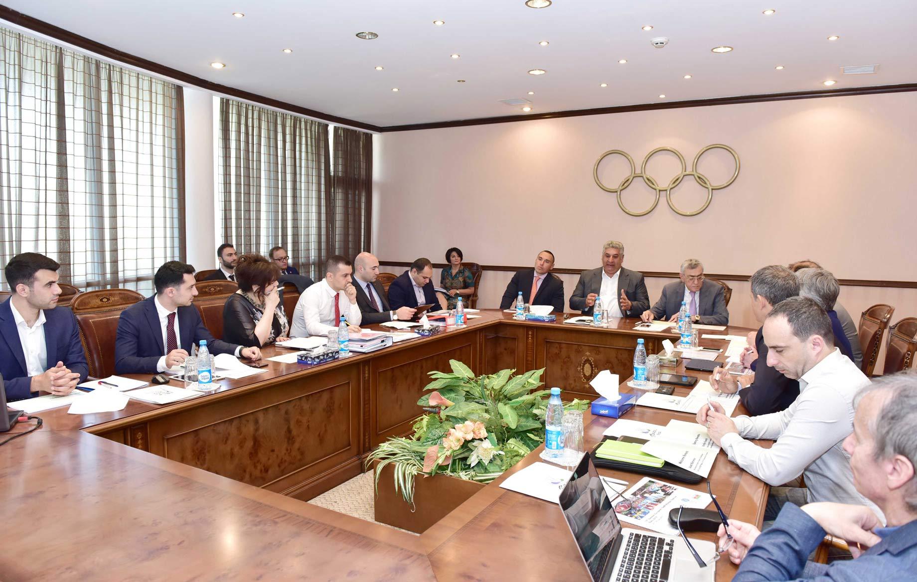 XV Avropa Gənclər Olimpiya Festivalı Əlaqələndirmə Komissiyasının sonuncu toplantısı keçirilib