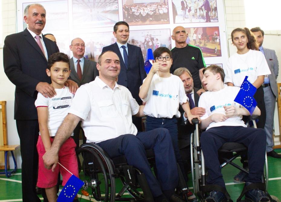 Azərbaycanda uşaq paralimpiyasının inkişafına dəstək veriləcək