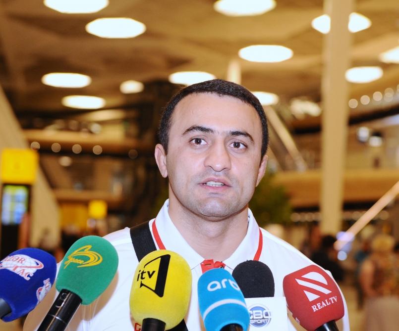 """Fərid Mansurov: """"İnanıram ki, atletlərimiz hər bir idman növündə qızıl medallar əldə edəcəklər"""""""