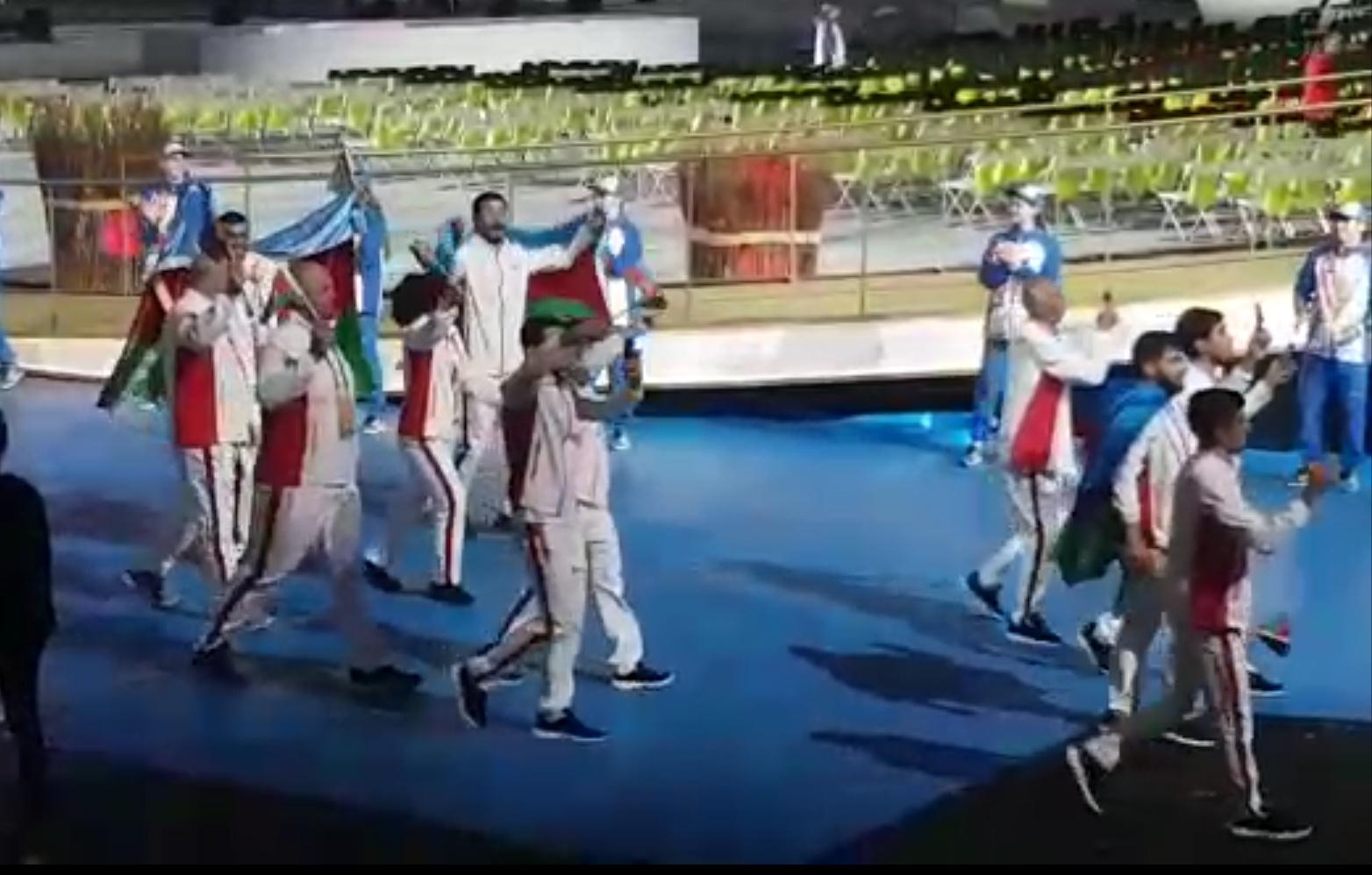 II Avropa Oyunlarının açılış mərasimindən-Video
