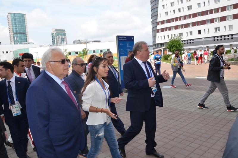 Minsk-2019-da iştirak edən idmançılarımızla görüş - FOTO