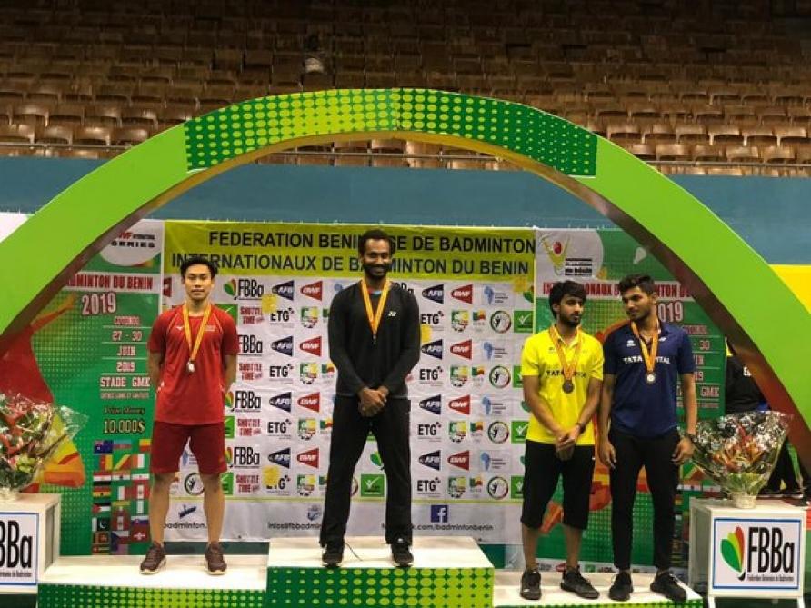 """""""Benin International 2019"""" turnirində gümüş medal"""