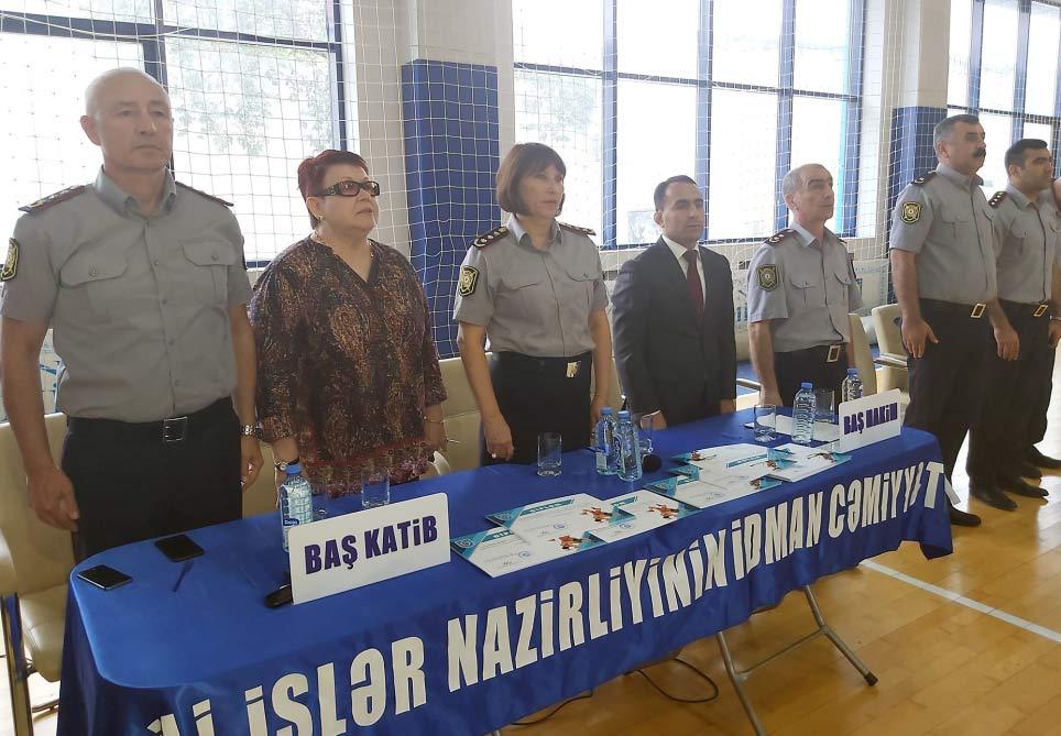 Azərbaycan Polisinin 101 illiyinə həsr olunmuş yarışların qalibləri mükafatlandırılıb
