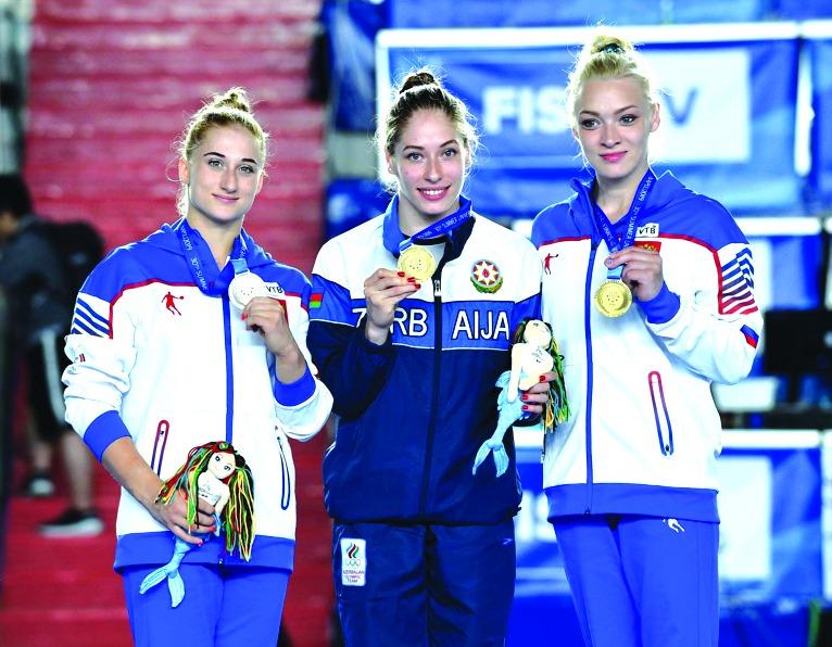 Azərbaycan Universiadada ilk qızıl medalını qazandı
