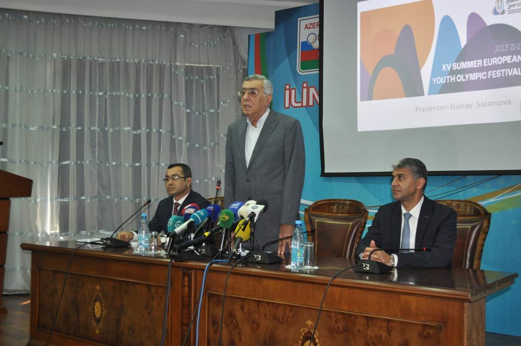 Bakı-2019-un iştirakçıları ilə görüş keçirilib