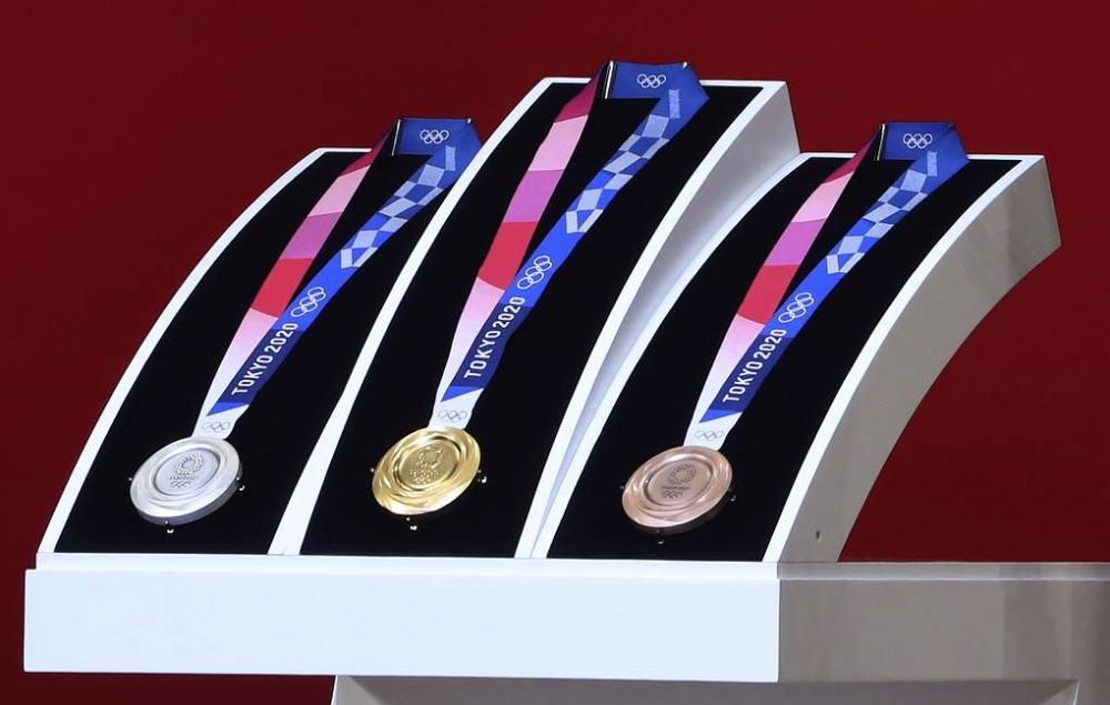 Tokio Olimpiadasının medallarının dizaynı təqdim olunub