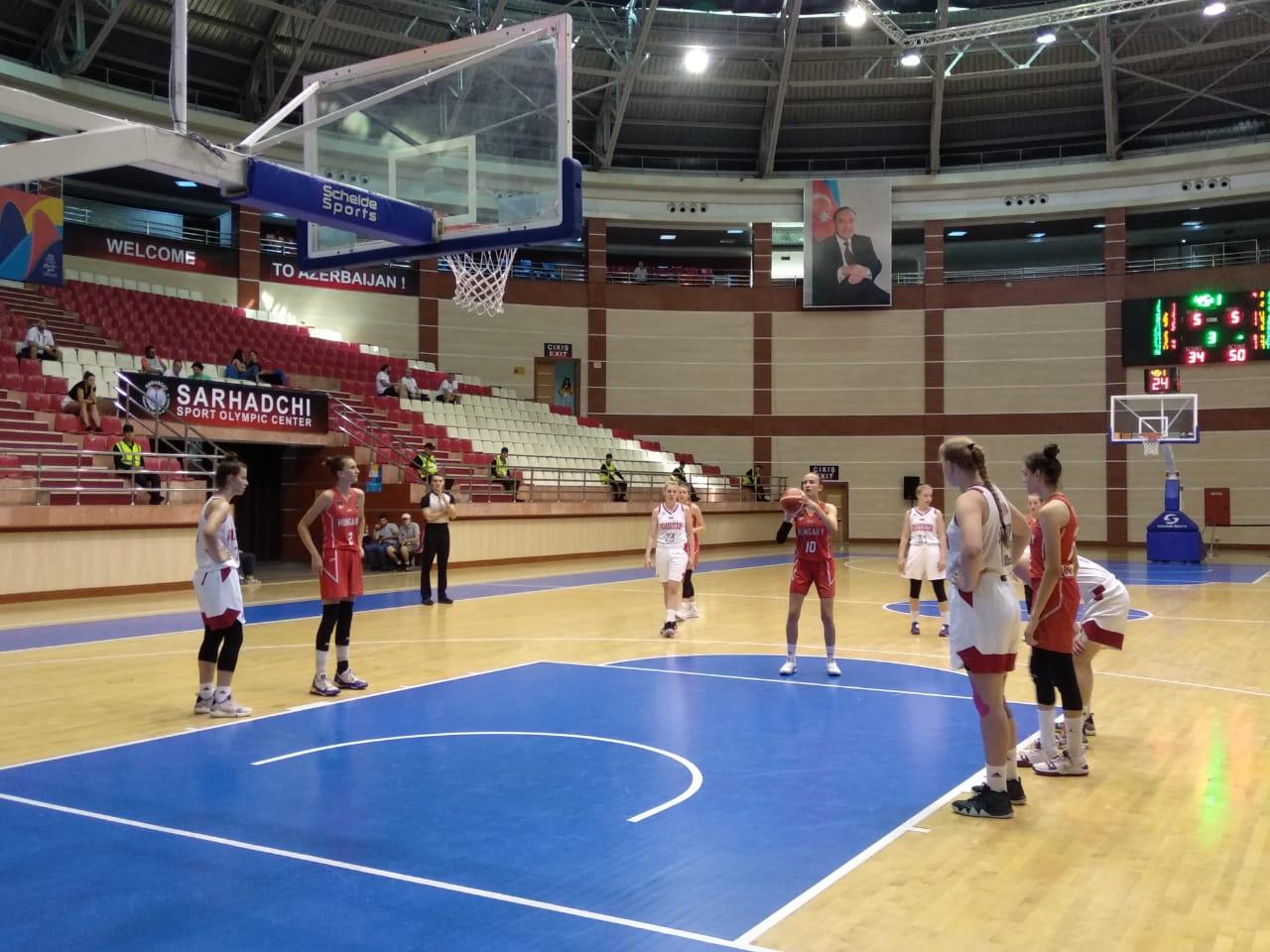 Macarıstanlı basketbolçular Bakı-2019-un finalına vəsiqə qazanıblar - VİDEO