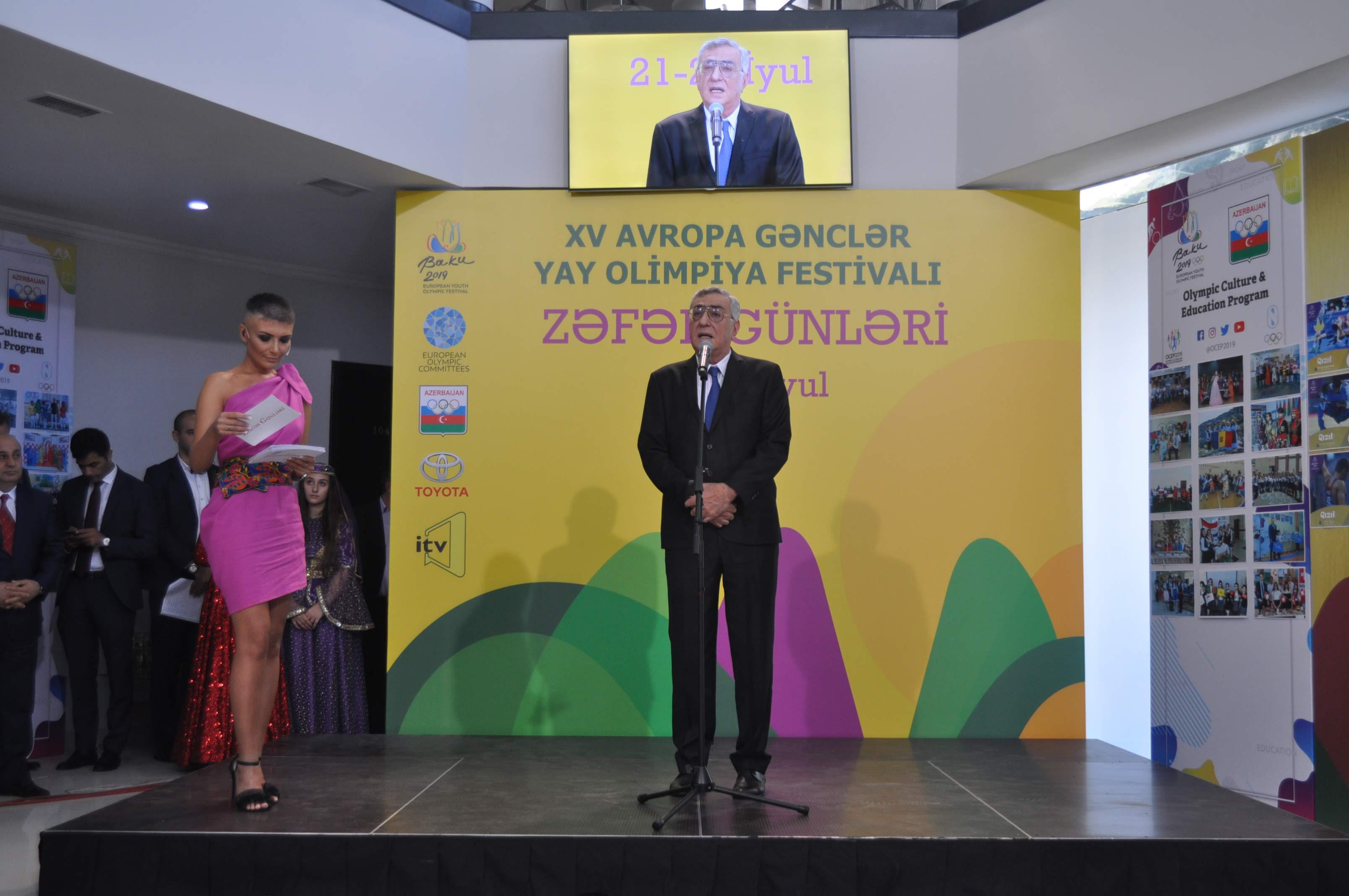 """Milli Olimpiya Komitəsində """"Zəfər günləri"""""""