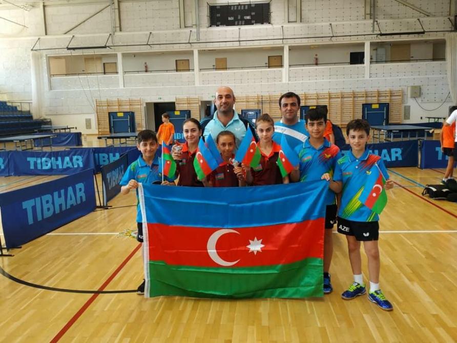 Stolüstü tennisçilərimiz Macarıstanda iki medal qazanıblar