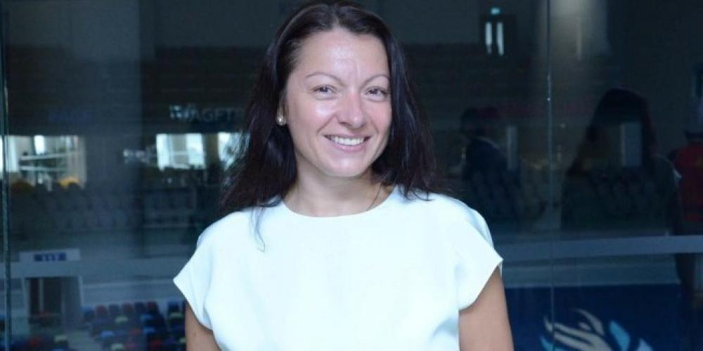 Mariana Vasileva Əməkdar məşqçi diplomu ilə təltif edilib