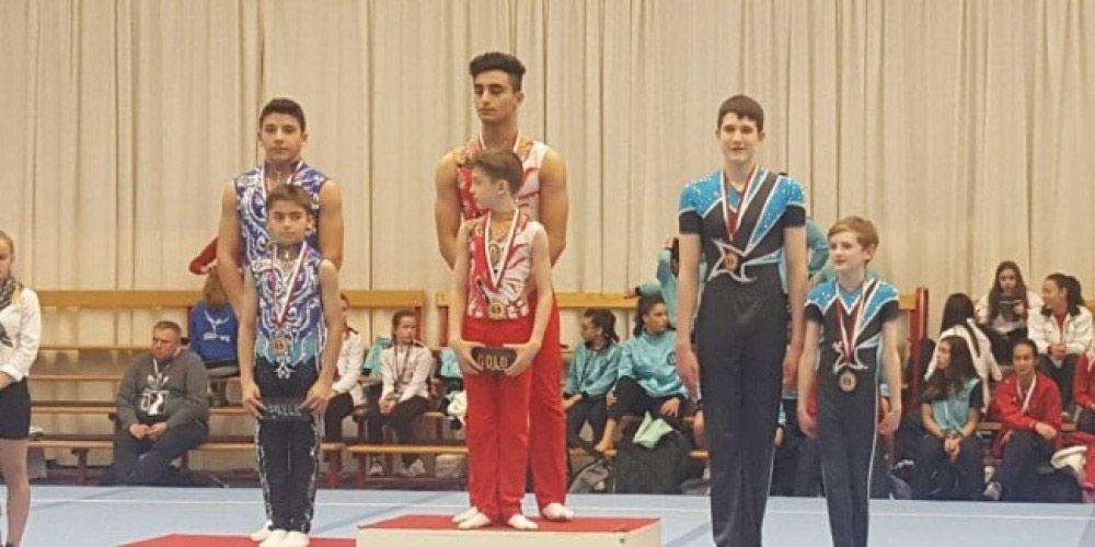 Gimnastlarımız beynəlxalq turnirdən üç medalla qayıdıblar