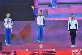 Dünya çempionatının ikinci günündə rusiyalı gimnastlar fərqləniblər