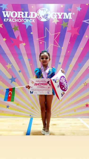 """""""GymStar Kids Cup""""da 12 gimnastımız yarışıb"""