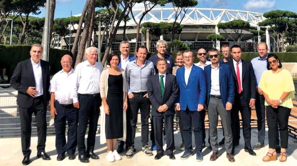 Avropa Olimpiya Komitələrinin illik iclası keçirilib