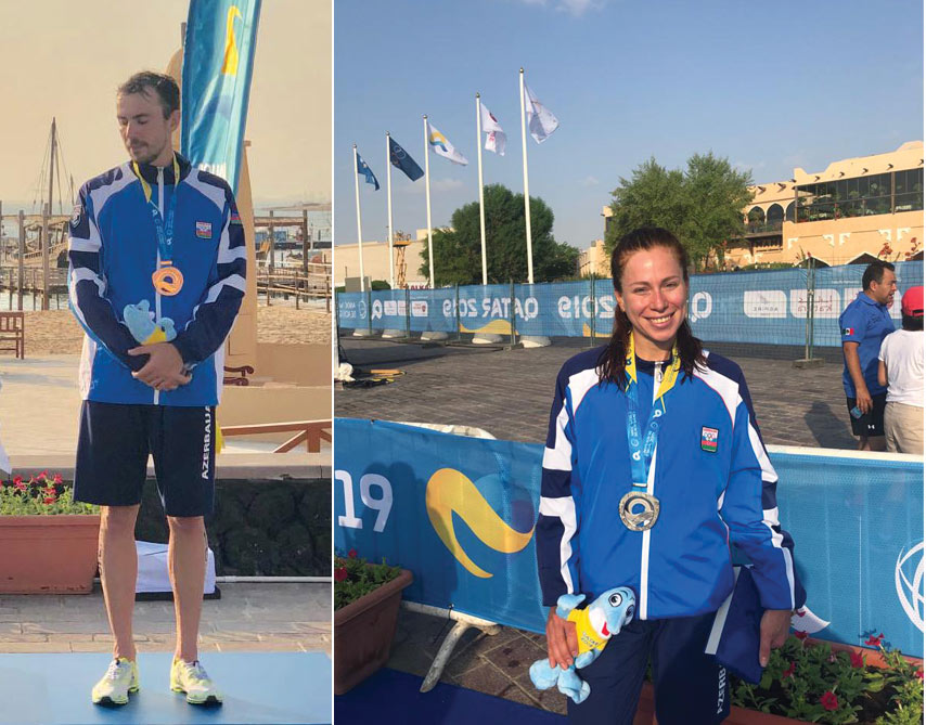 Komandamız Qətər 2019 Dünya Çimərlik Oyunlarında 2 medal qazanıb