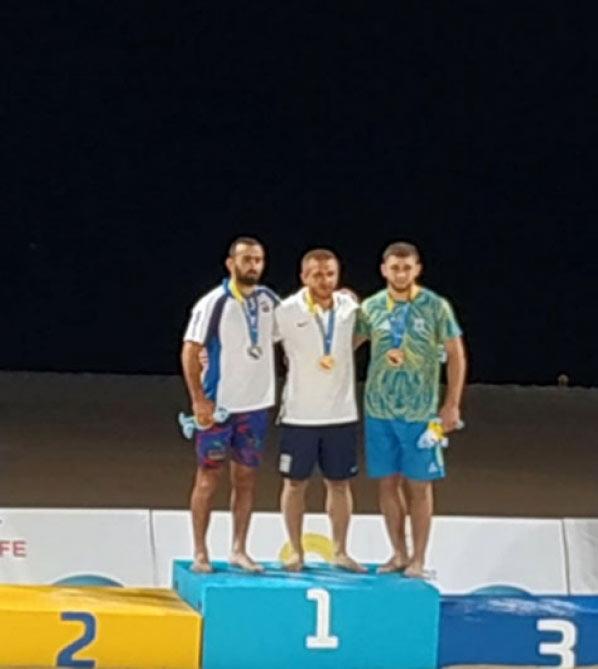 Güləşçilərimiz birinci Dünya Çimərlik Oyunlarında iki medal qazandılar