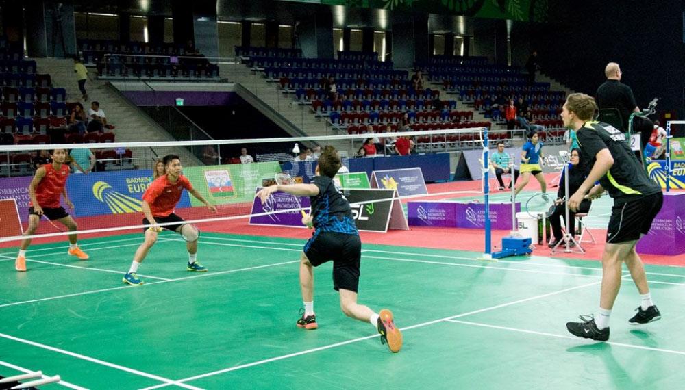 Badmintonçumuz yeni sınaq qarşısında