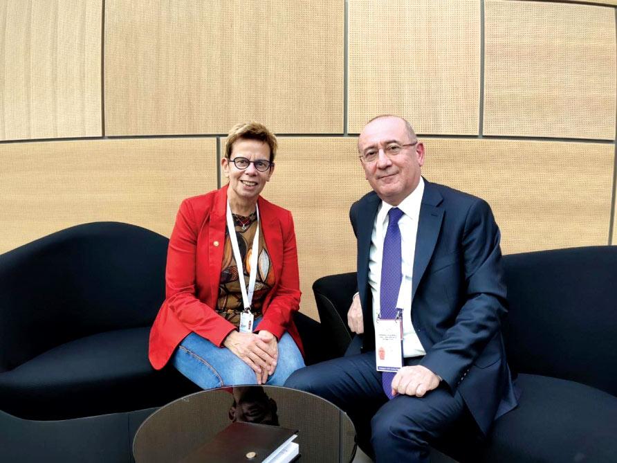 İlqar Rəhimov Beynəlxalq Paralimpiya Komitəsinin yeni icraçı direktoru ilə görüşüb