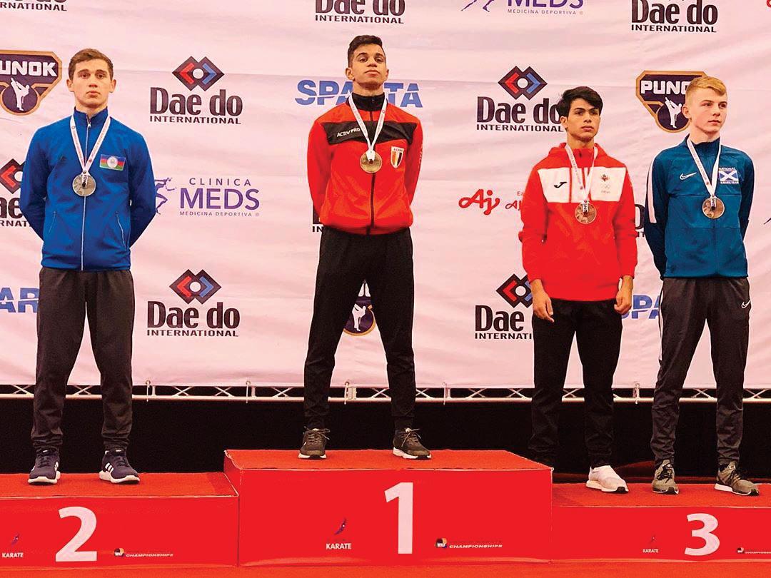 Gənc karateçilərimiz dünya çempionatını 4 medalla başa vurdular