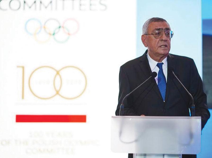 Çingiz Hüseynzadə AOK-un Olimpiya Oyunları Komissiyasının sədri seçilib
