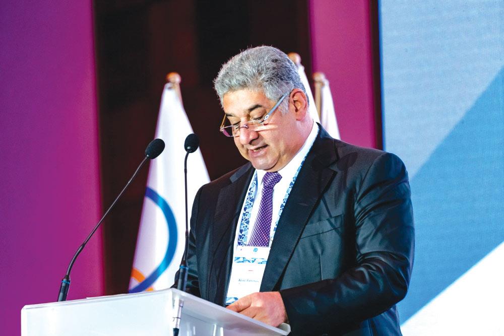 Azərbaycanın Gənclər və İdman naziri Avropa Olimpiya Komitələrinin 48-ci Baş Assambleyasında çıxış edib