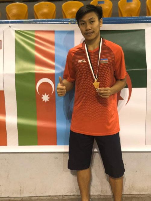 Badmintonçumuz beynəlxalq turnirdə