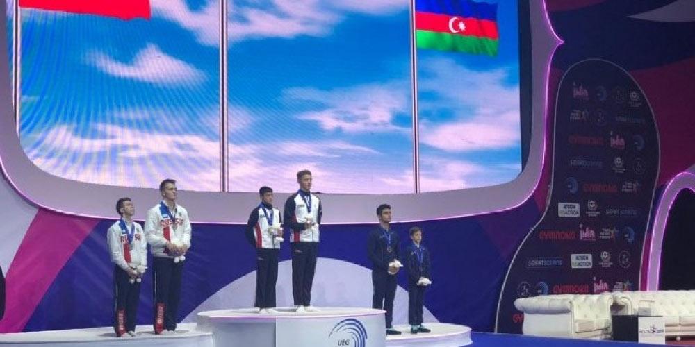 Avropa çempionatında bürünc medal