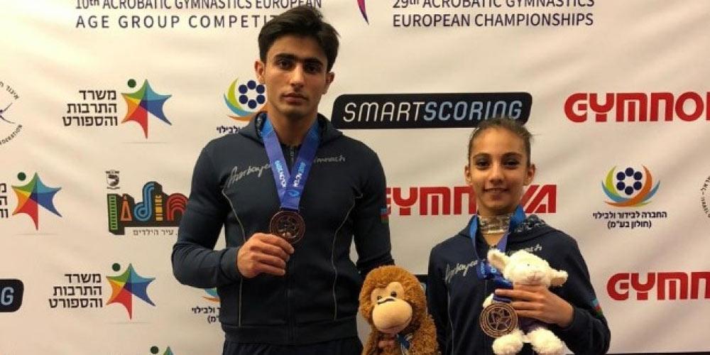 Gimnastlarımızdan qitə çempionatında növbəti medal
