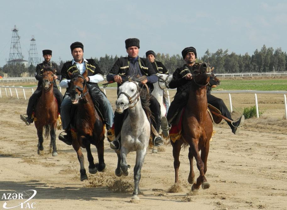 Azərbaycan Respublikası Atçılıq Federasiyasının təşkilatçılığı ilə yorğa atların çempionatı təşkil olunub