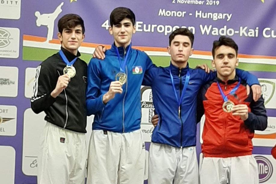 """""""Judo Club 2012""""nin karateçiləri Avropa çempionatında uğurla yarışıblar"""