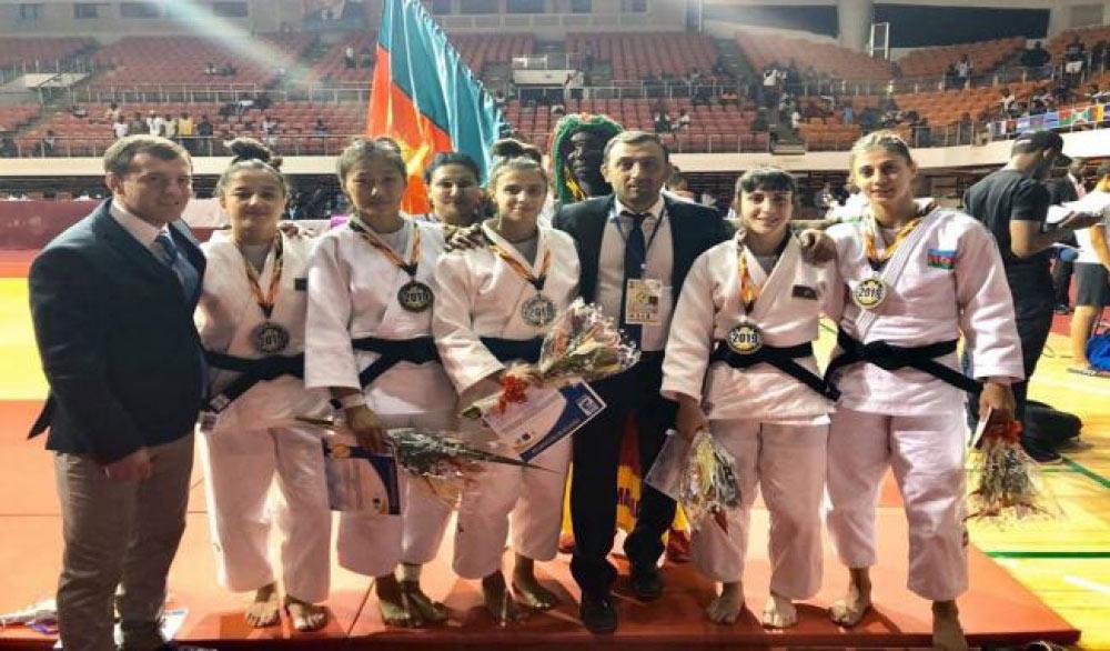 Cüdoçularımız Afrika açıq kubokunda 5 medalla qayıdırlar
